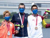 El triatleta Alejandro Sánchez Palomero, bronce en Tokio