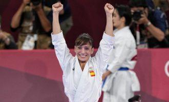 Sandra Sánchez, campeona olímpica