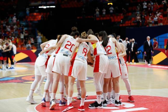 España en el Eurobasket Femenino. Fuente: FEB