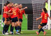 España vence a Países Bajos (1-0) en el encuentro disputado en Marbella