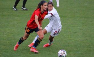 España prolonga su racha de triunfos tras ganar a México (3-0)