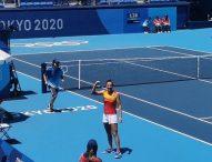 Muguruza, Suárez y Sorribes debutan en individuales con victoria en Tokyo 2020