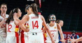 Los triples de Maite Cazorla impulsan a España ante Serbia (85-70)