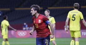 Un gol de Oyarzabal da la victoria a España