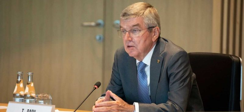 El Presidente del COI, Thomas Bach. Fuente: Greg Martin/COI