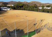 El béisbol ya se respira sobre la arena de Málaga