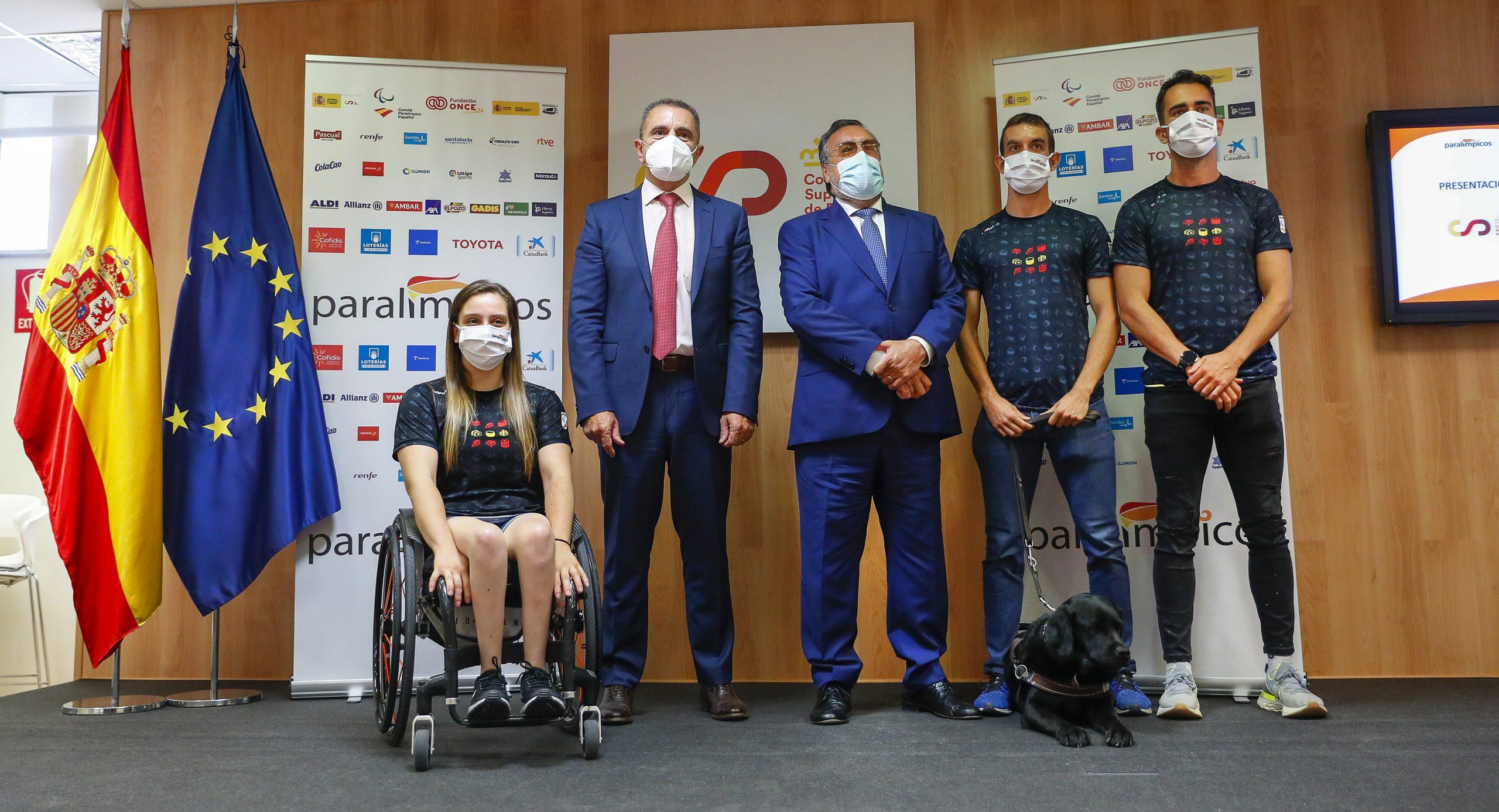 Acto del Equipo Paralímpico Español. Fuente: CPE