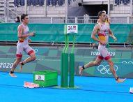 Mario Mola, 10º, mejor triatleta español en Tokyo 2020