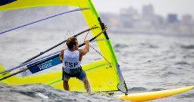 Ángel Granda, 1ª final olímpica para la vela española en Tokyo 2020