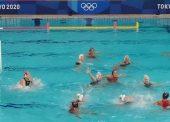 Contundente debut de España ante Sudáfrica (4-29) en waterpolo femenino