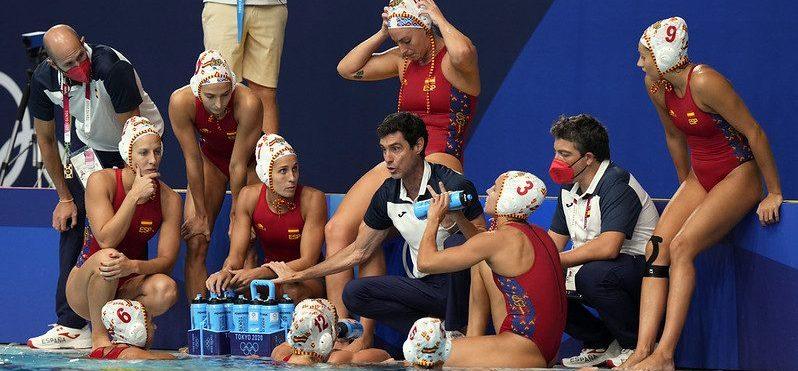 Selección española femenina de waterpolo. Fuente: COE