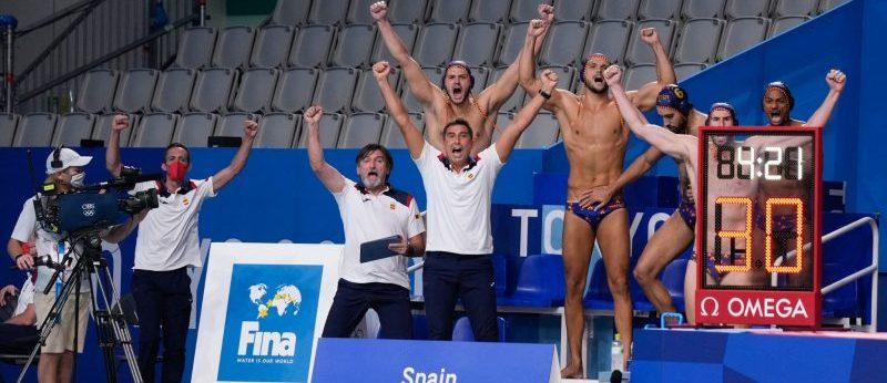 Selección Masculina Española de Waterpolo. Fuente: COE