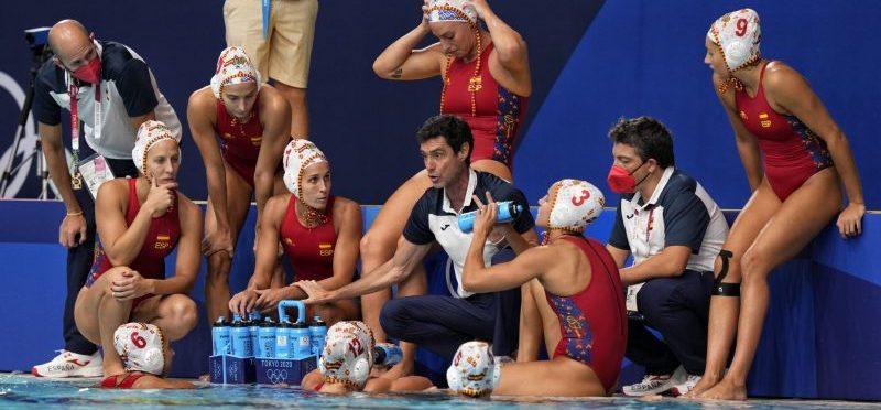 La selección española femenina de waterpolo. Fuente: COE