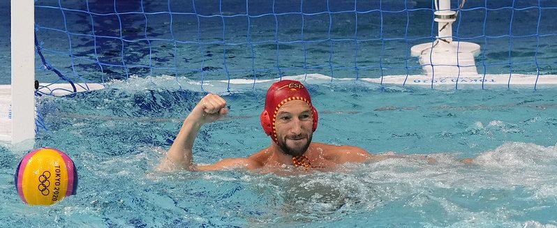Selección Española Masculina de Waterpolo en Tokio. Fuente: COE