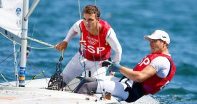 Jordi Xammar y Nico Rodríguez, bronce en la clase 470