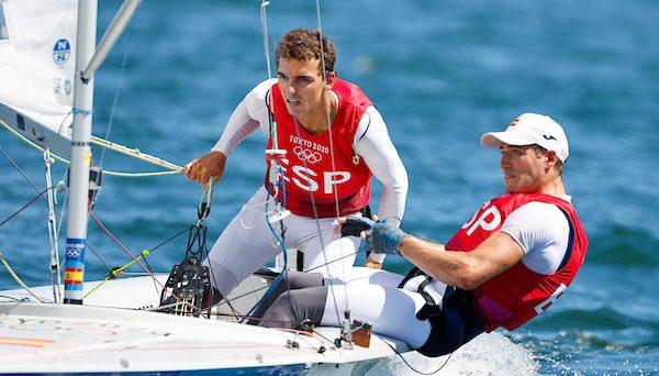 Jordi Xammar y Nico Rodríguez. Fuente: COE